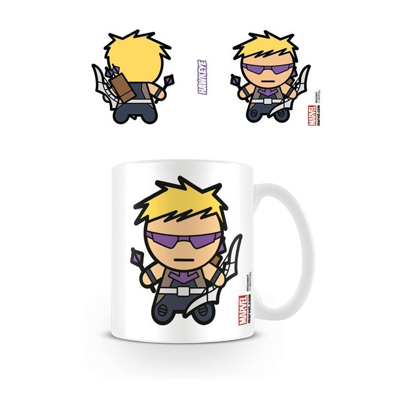 MARVEL - Mug - 315 ml - Kawaii Hawkeye 170258  Marvel