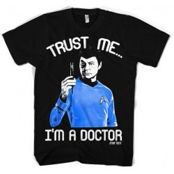 STAR TREK - T-Shirt Trust Me I'am the Doctor (S) 156405  T-Shirts Star Trek