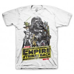 STAR WARS - T-Shirt The Empires Strike Back (S) 156379  T-Shirts Star Wars