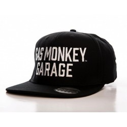 GAS MONKEY GARAGE - Typo Snapback Cap 156378  Gas Monkey Petten & Caps