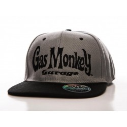 GAS MONKEY GARAGE - Logo Snapback Cap 156377  Gas Monkey Petten & Caps