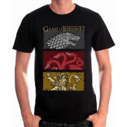 GAME OF THRONES - T-Shirt The Houses of the King (S)