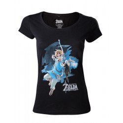 ZELDA BREATH OF THE WILD- T-Shirt Link with Bow - GIRL (XS) 156292  T-Shirts Vrouwen
