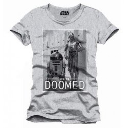 STAR WARS - T-Shirt We Are Doomed (S) 156227  T-Shirts Star Wars