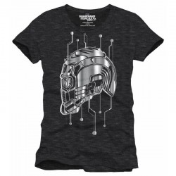 GUARDIANS OF THE GALAXY - T-Shirt Technical Helmet Star Lord (XXL) 156198  T-Shirts Guardians of the Galaxy