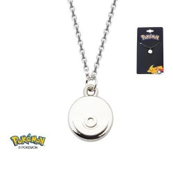 POKEMON - PokeBall Steel Necklace 156142  Halskettingen