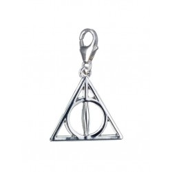HARRY POTTER - Sterling SILVER Deathly Hallows Clip On Charm