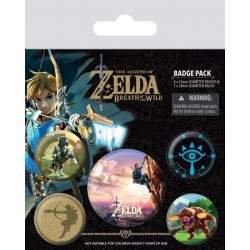 ZELDA Breath of the Wild - Pack 6 Badges - The Climb 155778  Badges