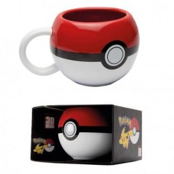 POKEMON - 3D Mug 300 ml - Pokeball 155689  Drinkbekers - Mugs