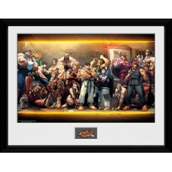 STREET FIGHTER - Collector Print 30X40 - Characters 155672  Posters