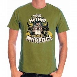 HEARTHSTONE - T-Shirt Your Mother Was a Murloc (S) 155501  T-Shirts Hearthstone