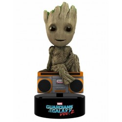 GUARDIANS OF THE GALAXY 2 - Body Knocker Solar Powered - Groot - 16cm