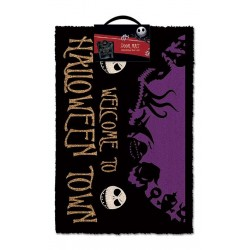 NIGHTMARE BEFORE CHRISTMAS - Paillasson 40X60 - HalloweenTown 155445  Gadgets