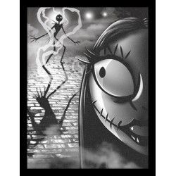 NIGHTMARE BEFORE CHRISTMAS - Collector Print HQ 32X42 - Misfit Love 155443  Collector Print Canvas