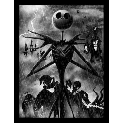 NIGHTMARE BEFORE CHRISTMAS - Collector Print HQ 32X42 - Jack Storm 155442  Collector Print Canvas