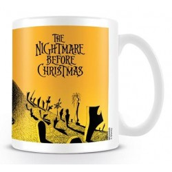 NIGHTMARE BEFORE CHRISTMAS - Mug - 315 ml - Graveyard Scene 155437  Drinkbekers - Mugs