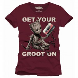 GUARDIANS OF THE GALAXY - T-Shirt Get Your Groot On (M)
