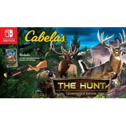 Cabela's The Hunt + Hunting Rifle 170167  Nintendo Switch