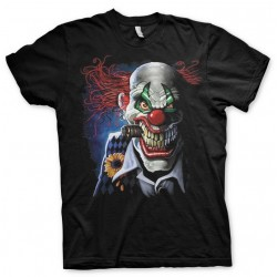 HORROR - T-Shirt Joker Clown (M) 155230  T-Shirts The Joker