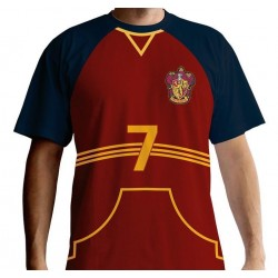 HARRY POTTER - T-Shirt PREMIUM - Quidditch Jersey (S) 155040  T-Shirts Harry Potter