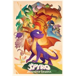 SPYRO - Poster 61X91 - Animated Style 170134  Posters