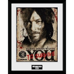 THE WALKING DEAD - Collector Print 30X40 - Daryl Needs You
