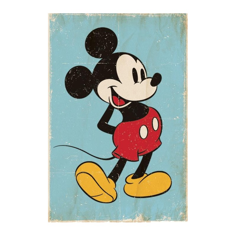 DISNEY - Poster 61X91 - Mickey Mouse Retro 170133  Posters