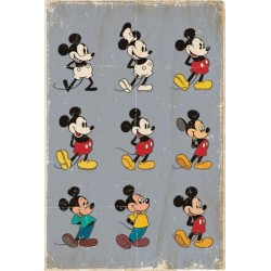 DISNEY - Poster 61X91 - Mickey Mouse Evolution 170132  Posters