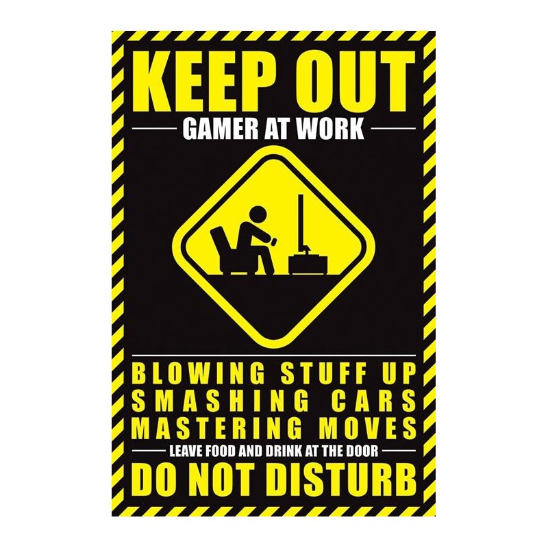 GAMERS - Poster 61X91 - Gamer at Work 170130  Posters