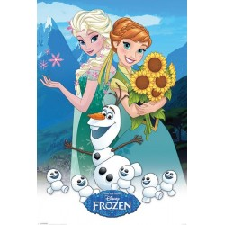 DISNEY - Poster 61X91 - Forzen Forever 170128  Posters
