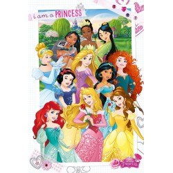 DISNEY PRINCESS - Poster 61X91 - I am a Princess 170124  Posters