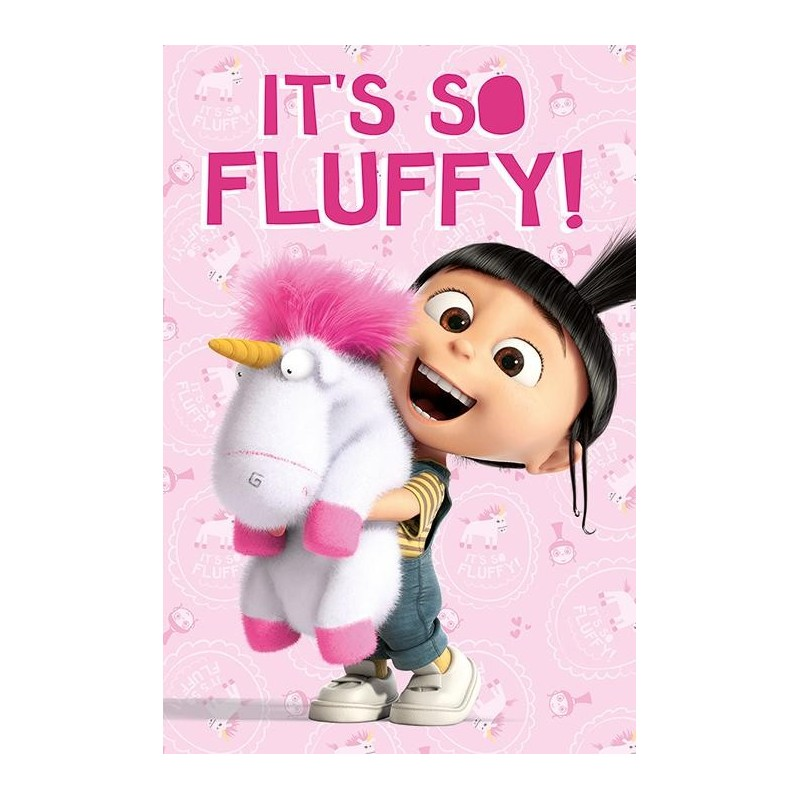 DESPICABLE ME - Poster 61X91 - It's So Fluffy 170119  Posters