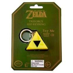 ZELDA - Triforce Keyring Light 154720  Deco, Wand, Kamer & Nacht Lampen