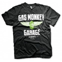 GAS MONKEY - T-Shirt Wheels (S) 154693  T-Shirts
