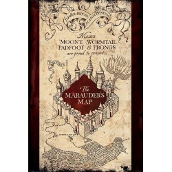HARRY POTTER - Poster 61x91 - The Marauders Map 170115  Posters