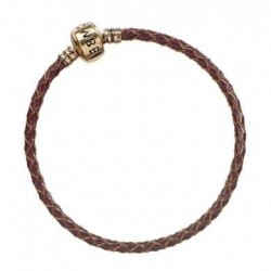 FANTASTIC BEASTS - Brown Leather Charm Armband - 19cm