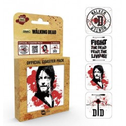 WALKING DEAD - Official Coaster Pack - Daryl