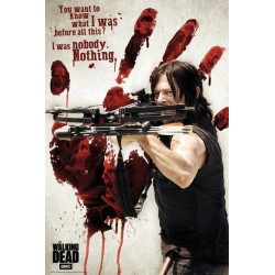 WALKING DEAD - Poster 61X91 - Bloody Hand Daryl 154620  Posters