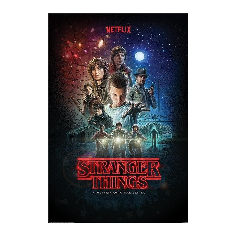 STRANGER THINGS - Poster 61x91 - One Sheet 170109  Posters
