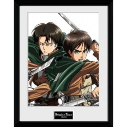 ATTACK ON TITAN - Collector Print 30X40 - Caracters 154614  Posters