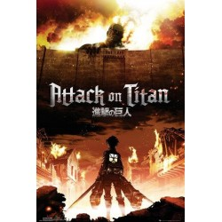 ATTACK ON TITAN - Poster 61X91 - Key Art 154605  Posters