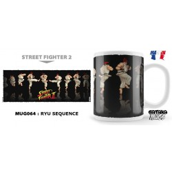 STREET FIGHTER - Mug - Ryu Sequence 154569  Street Fighter