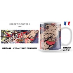 STREET FIGHTER - Mug - Vega Fight Zanghief 154567  Street Fighter