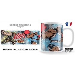 STREET FIGHTER - Mug - Guile Fight Balrog 154564  Street Fighter