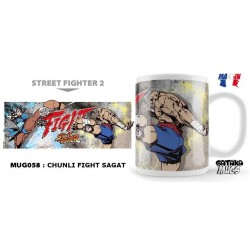 STREET FIGHTER - Mug - Chunli Fight Sagat 154563  Street Fighter