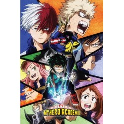 MY HERO ACADEMIA - Poster 61x91 - Characters Mosaic 170104  Posters