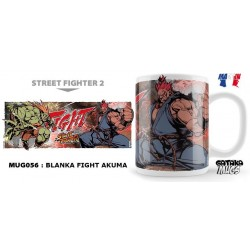 STREET FIGHTER - Mug - Blanka Fight Akuma 154561  Street Fighter