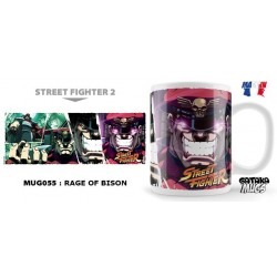 STREET FIGHTER - Mug - Rage of Bison 154560  Bekers en Glazen