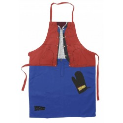 BACK TO THE FUTURE- Apron and Oven Glove - Marty 154428  Keuken Schorten