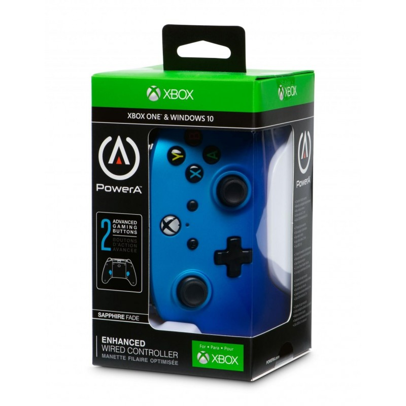 POWER A - Wired Controller Sapphire Fade